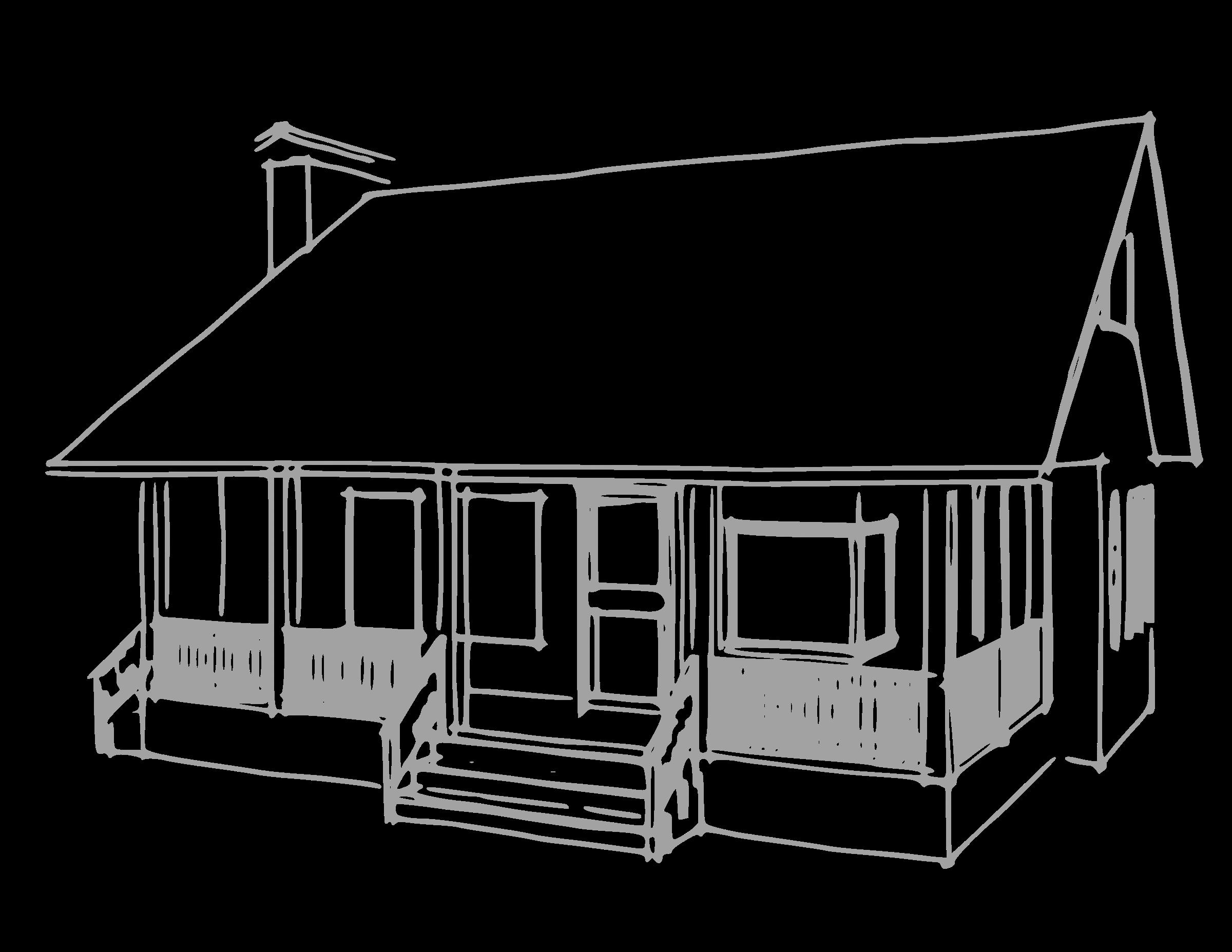 Wagon clipart cabin. House porch gucciguanfangwang me