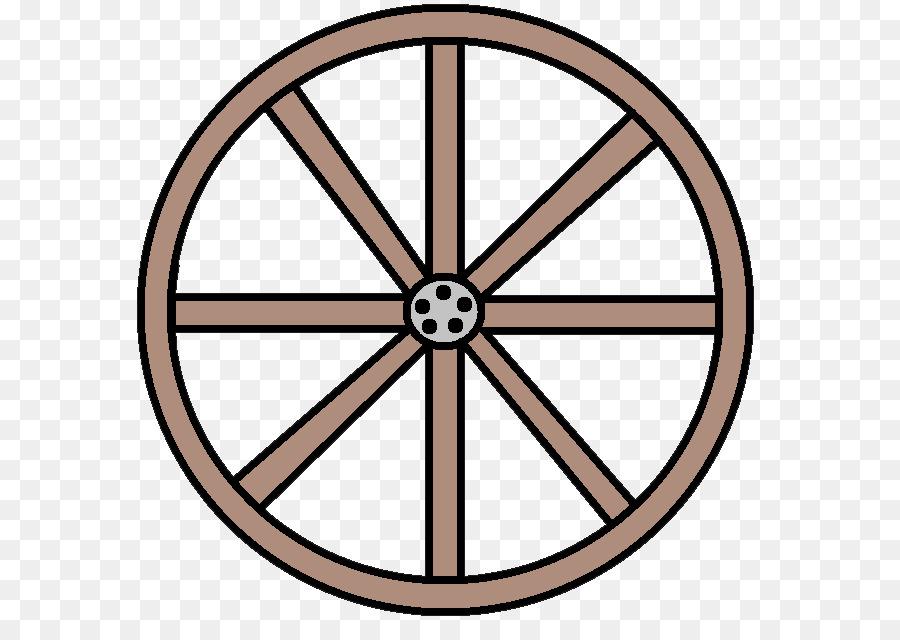 Wagon clipart circle. Bicycle cartoon wheel transparent