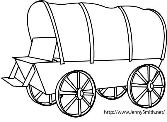 Wagon clipart clip art. Publisher delia covered line