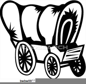 Wagon clipart conestoga wagon. Free covered cliparts images