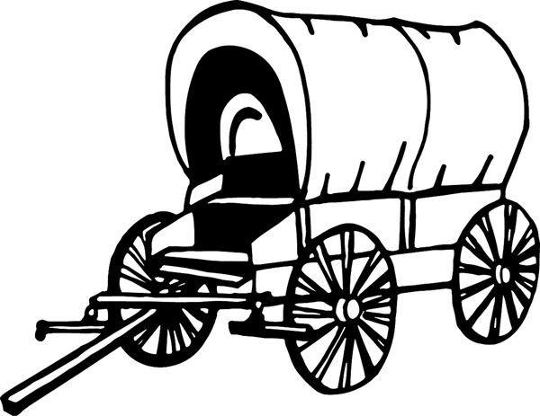 Western westerns cowboys indians. Wagon clipart cowboy