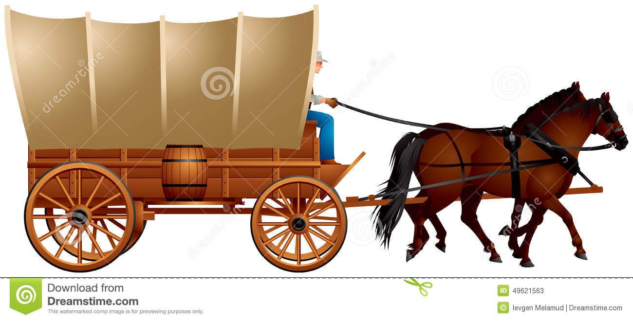 Wild west covered me. Wagon clipart cowboy