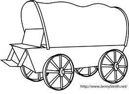 Wagon clipart easy draw. Pin on art ideas