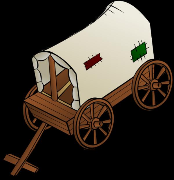 Caravan panda free images. Wagon clipart hand cart