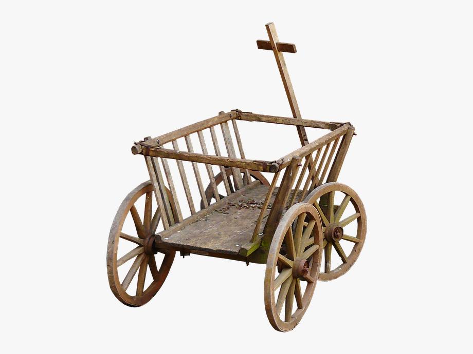 Wagon clipart hand cart. Stroller handcart wheel towbar
