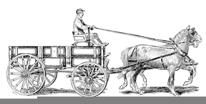 And covered free images. Wagon clipart horse wagon