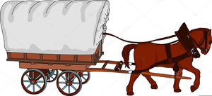 Wagon clipart horse wagon. And free images at