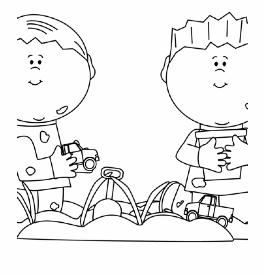 Wagon clipart kid research. Black and white kids