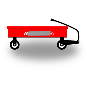 Cliparts of free . Wagon clipart little red wagon