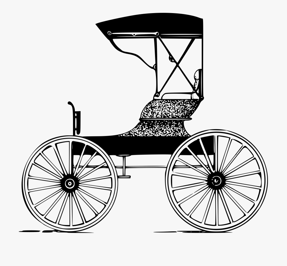 Wagon clipart old carriage. Wheel free
