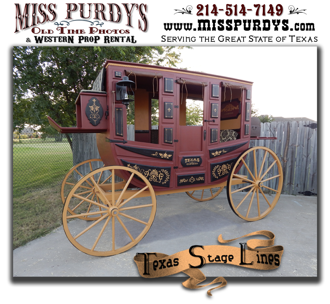 Stagecoach for rent western. Wagon clipart old style
