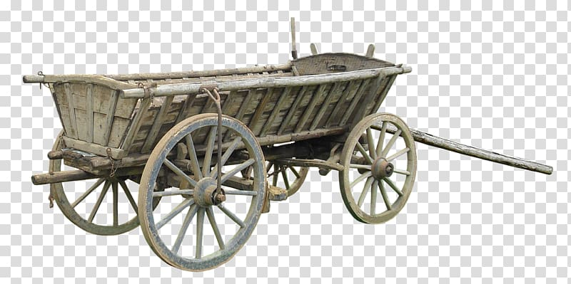 Covered cart horse drawn. Wagon clipart old transportation