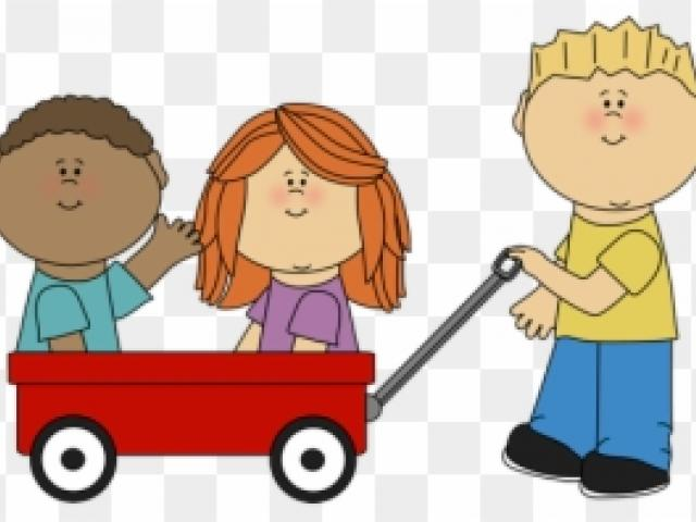 Free download clip art. Wagon clipart outdoor child