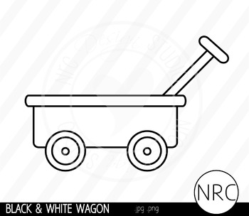 Wagon clipart outline. Worksheets teaching resources teachers