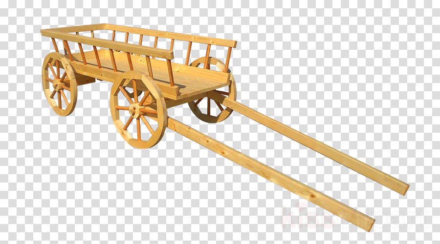 Vehicle cart carriage . Wagon clipart oxcart