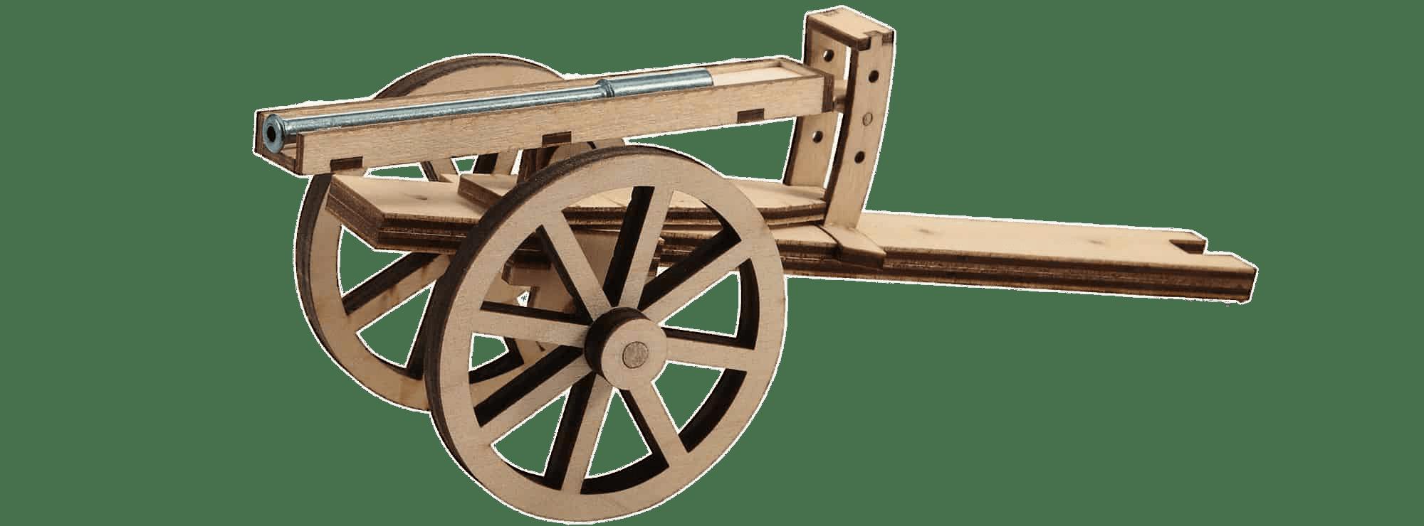 Wagon clipart oxcart. Leonardo da vinci canon