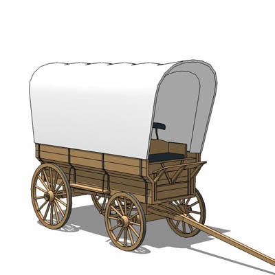 The . Wagon clipart prairie schooner