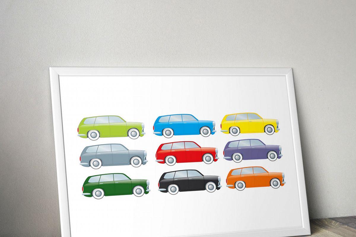 Wagon clipart printable. Digital cars car stickers