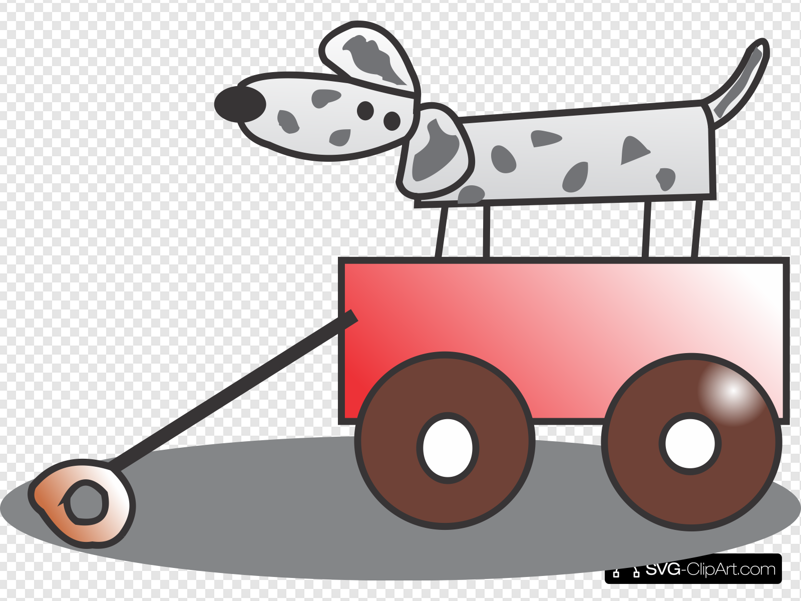 Wagon clipart toy wagon. Clip art icon and