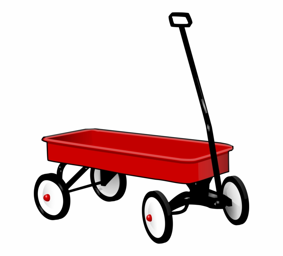Wagon clipart transparent. Covered cart radio flyer