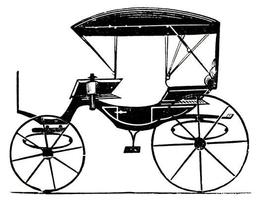 Wagon clipart victorian.