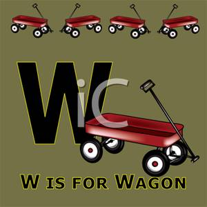 Wagon clipart w be for. Is royalty free picture