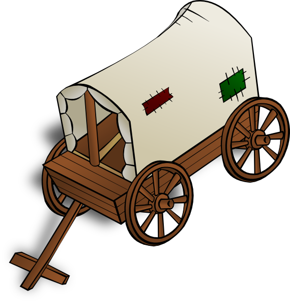Wagon clipart waggon. The picture for word