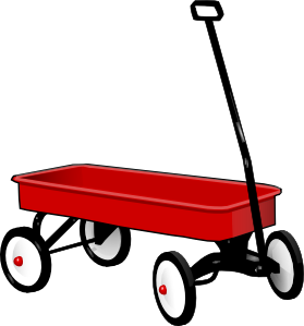 Wagon clipart waggon. Clip art at clker
