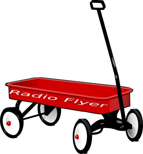 Wagon wagon radio flyer