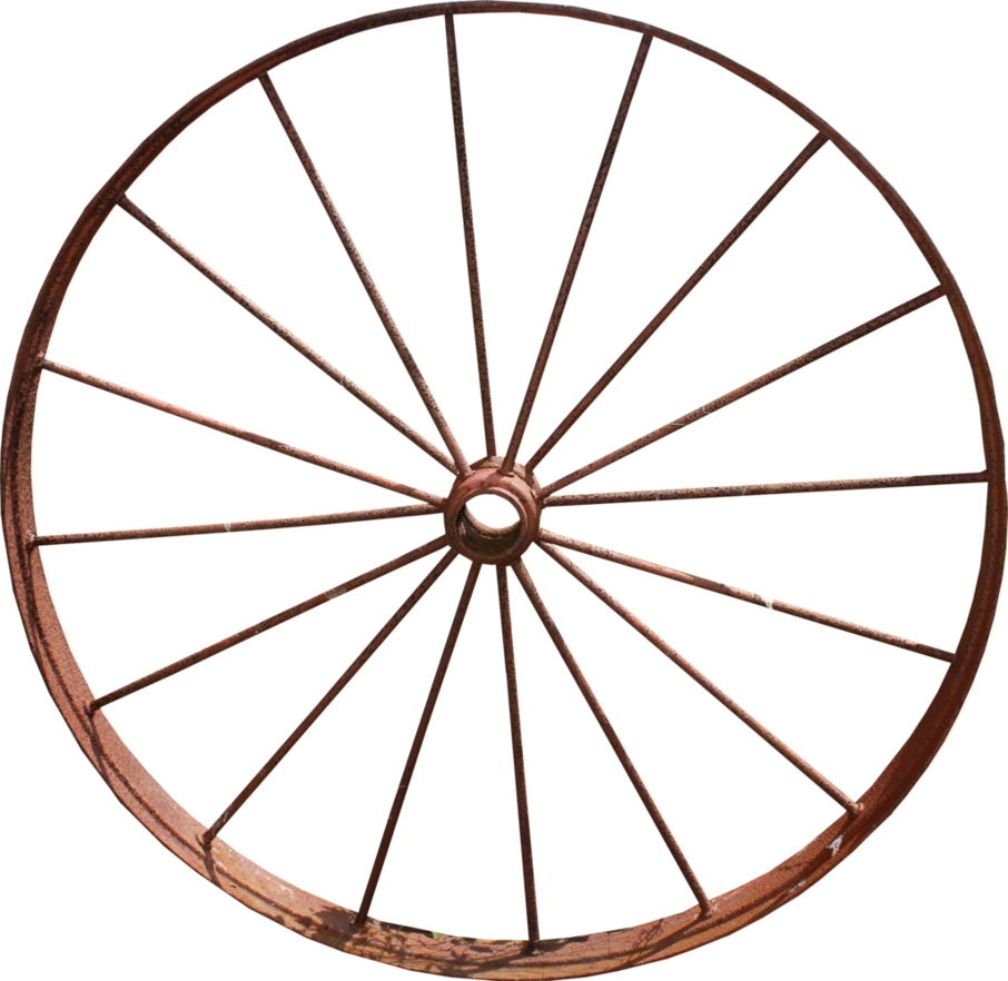Iron png by thy. Wheel clipart wagon wheel