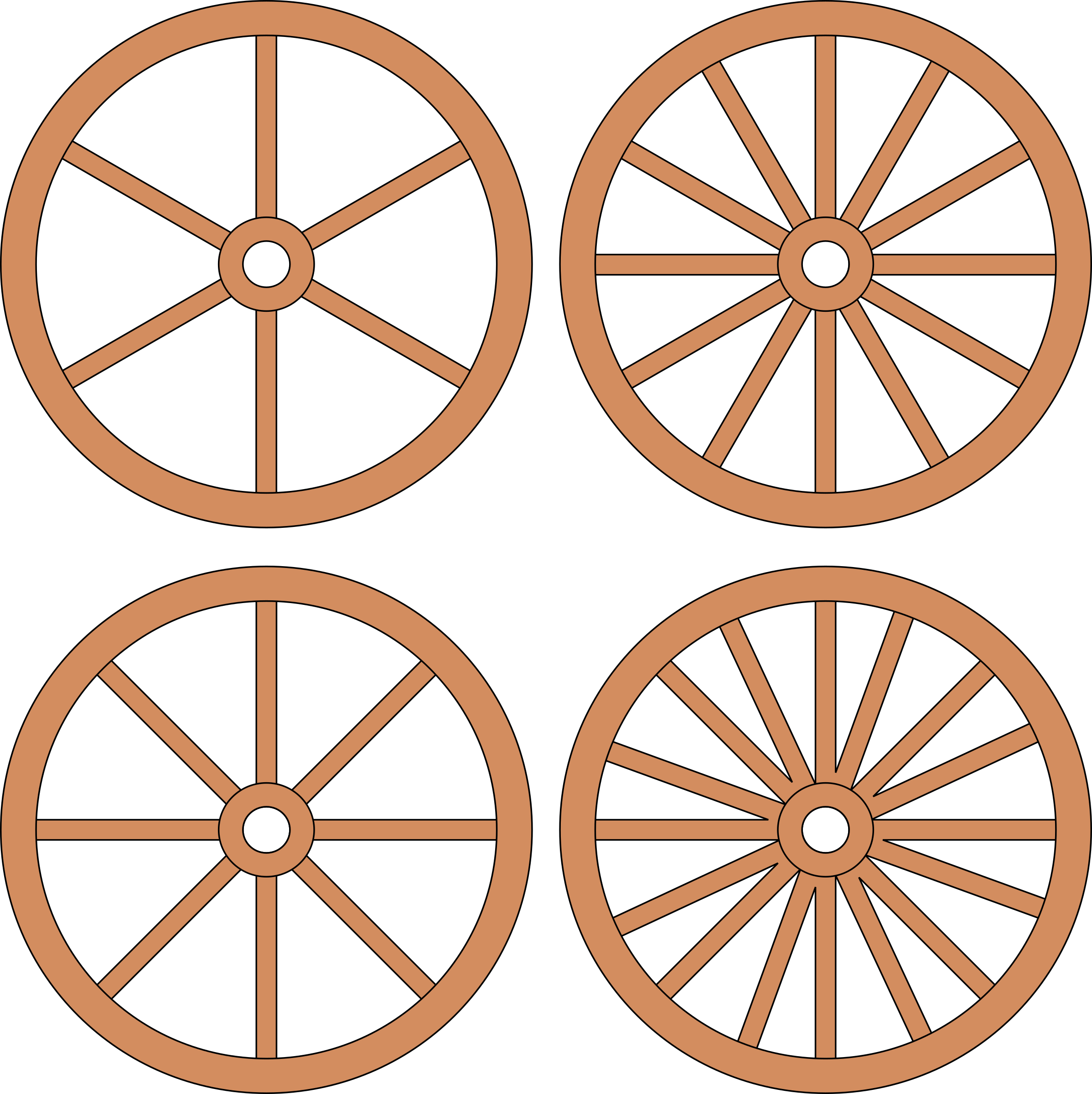 Cart or wheels big. Wheel clipart wagon wheel