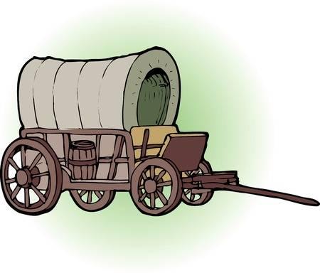 Portal . Wagon clipart western wagon