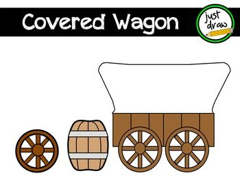 Covered clip art personal. Wagon clipart westward expansion