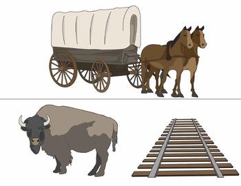 Wagon clipart westward expansion. Clip art