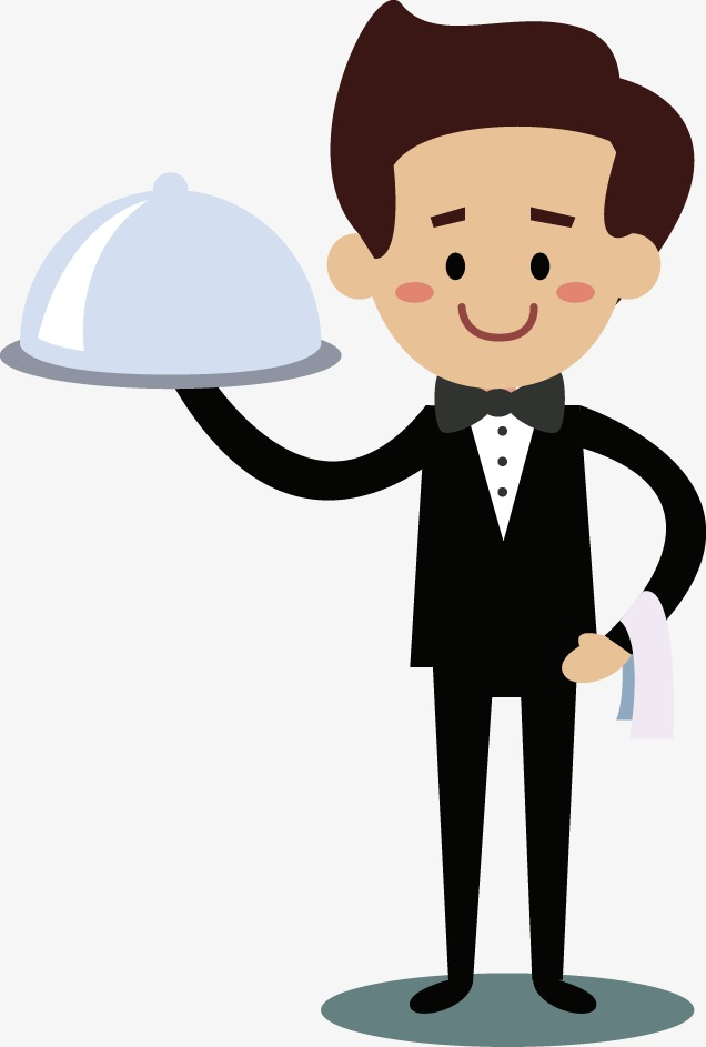 Waiter pictures free download. Waitress clipart animated