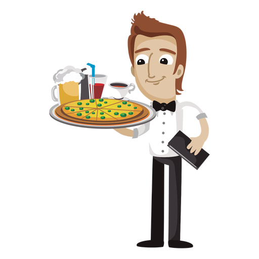 Waitress clipart bar staff. Waiter png image purepng