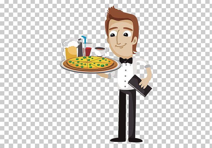 Waiter cartoon png cook. Waitress clipart bartender