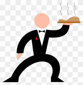 Free png waiter clip. Waitress clipart fancy restaurant