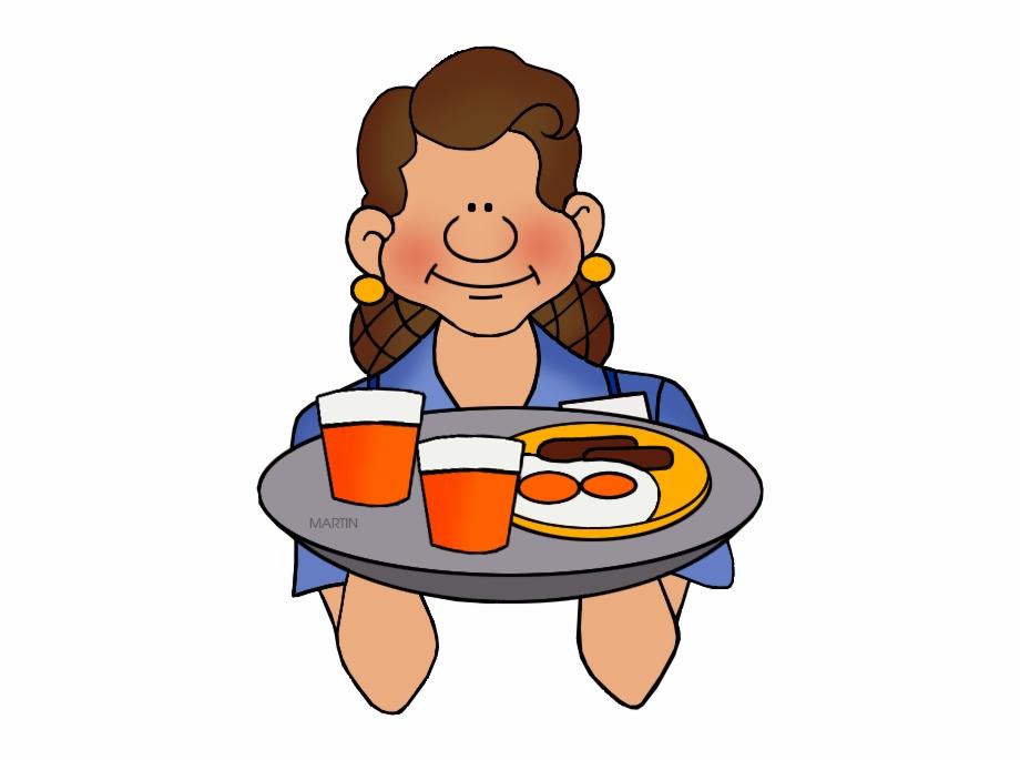 Waitress clipart food service. Clip art free png