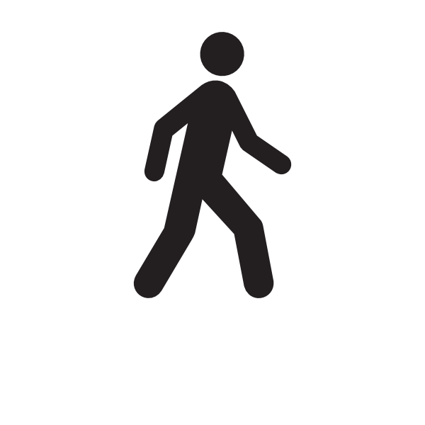 Walking clipart. Man moving clip art