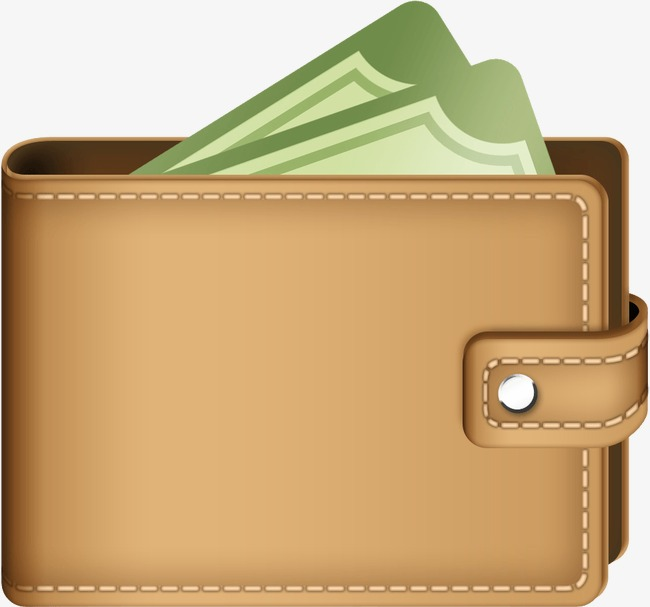 Money gold png image. Wallet clipart
