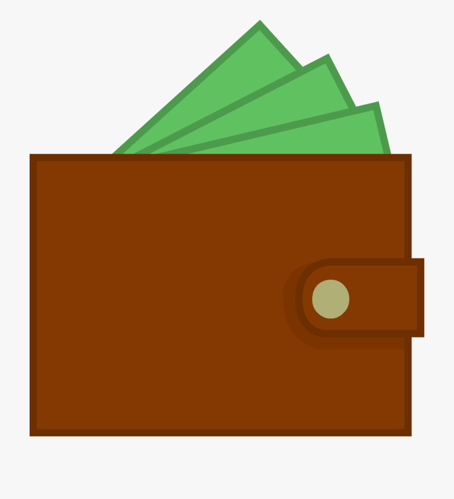 Inanimate objects new assets. Wallet clipart full wallet