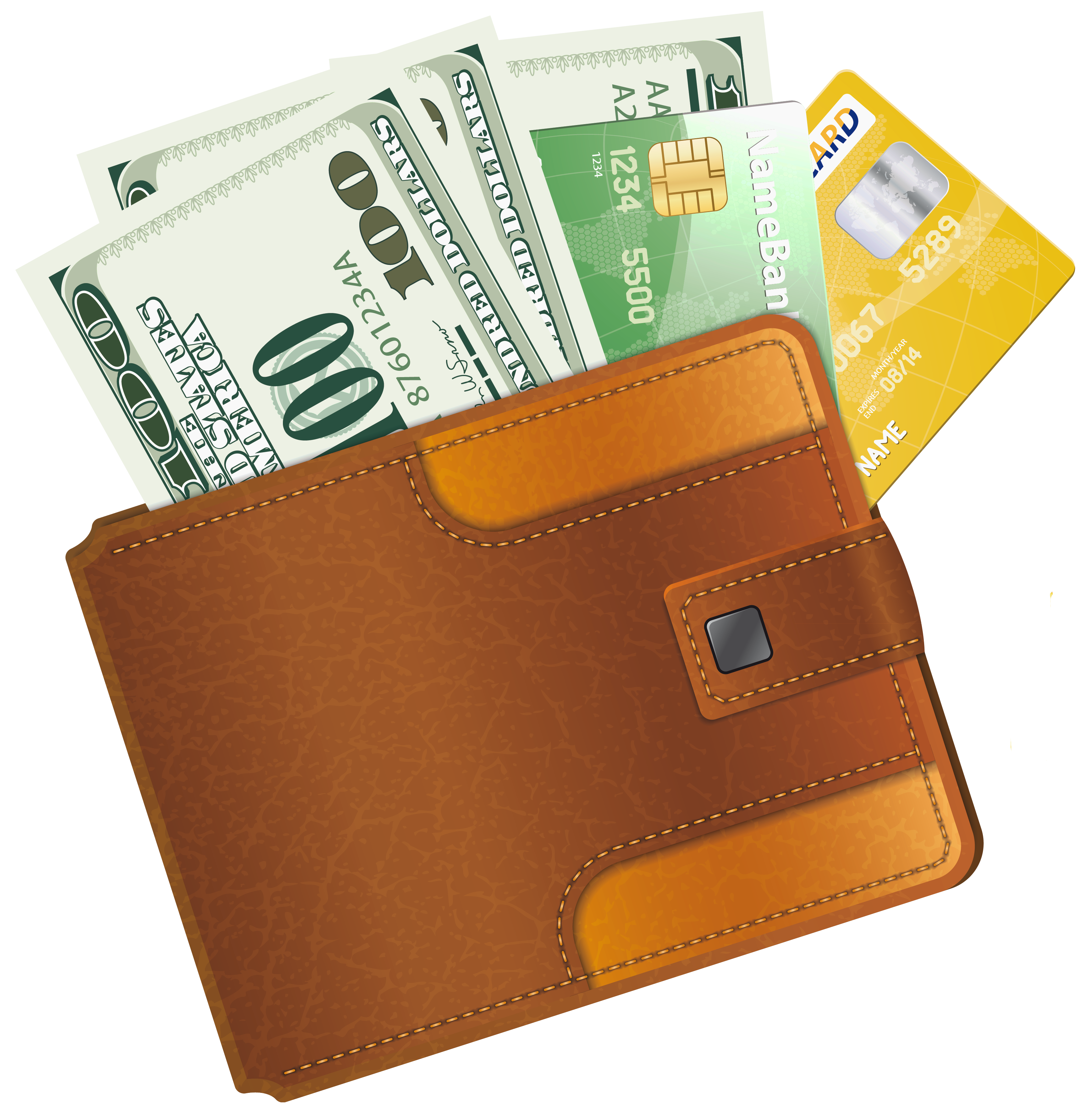 collection of png. Wallet clipart gents