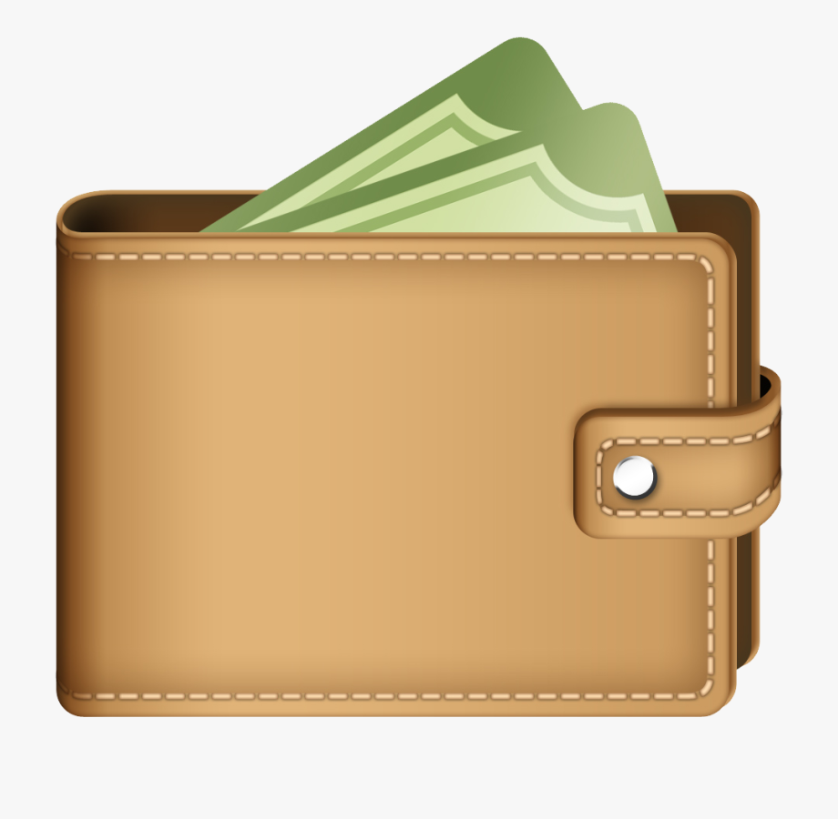 Wallet clipart leather wallet. Crypto free