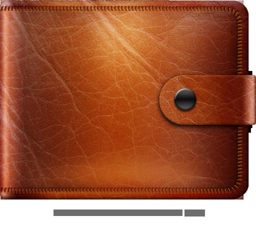Wallet clipart leather wallet. Png transparent image clip