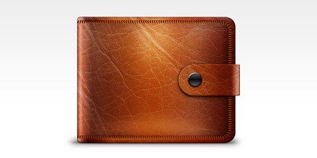 Free icon psd s. Wallet clipart leather wallet