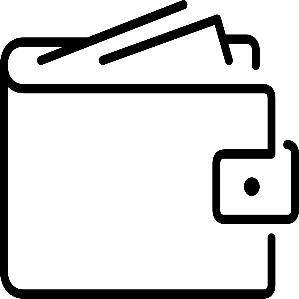 Svg png icon free. Wallet clipart lost wallet
