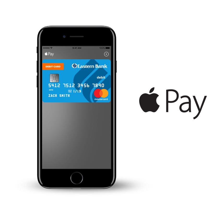 Wallet clipart mobile wallet. Apple pay eastern bank