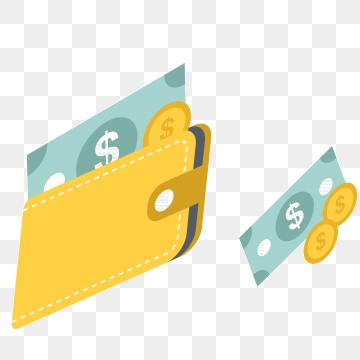 Wallet clipart money vector. Png psd and with