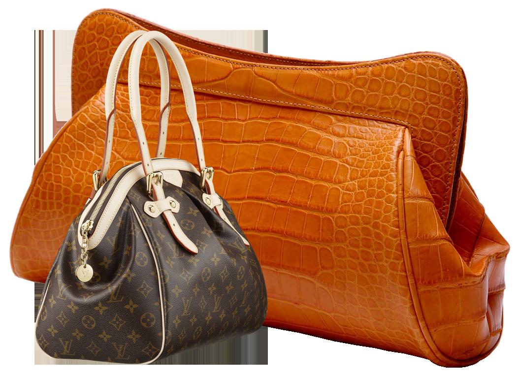 Crocus leather image. Wallet clipart orange bag